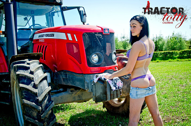 Babes on tractors nude are